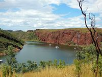 Lake Argyle, aka the Ord River Dam