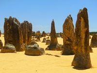 Pinnacles as far as the eye can see