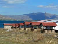 Picnic spots on Lake Sevan