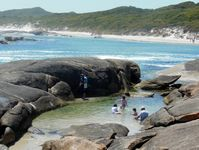 For some there are private rock pools