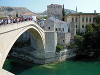 Re built bridge,  Mostar