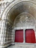 Entrance to the Cathederal (Cahors)