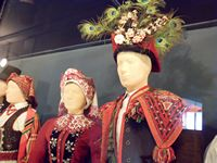 Festival costumes from Southern Poland