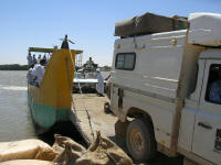 Loading the ferry, Wadi Halfa, Sudan