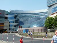 Warsaw, a modern covering for an open area