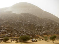 Ben Amira, second largest rock in the world, Mauritania
