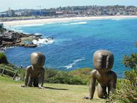 Art by the Sea, sculptures along the south Sydney Coast in October