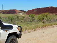 The red hills of the Pilbara